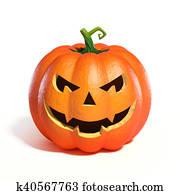 Halloween Pumpkin Jack O Lantern
