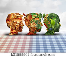 Healthy Living Nutrition Amp Exercising Stock Illustration