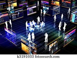 Social Network Online Community