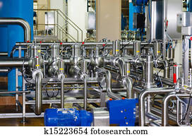 pipes, tanks for the food industry