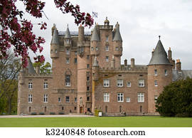 Glamis Castle in Scotland