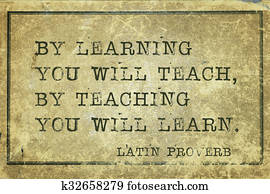 teaching learn Proverb