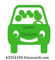 green machine carpool