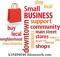 Small Business Shopping Bag