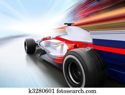 race on road