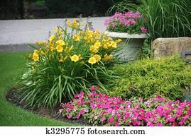 Jardin Fleur Banque d\'images et photographies 881 971 jardin fleur ...