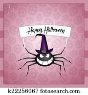 Spider for Happy Halloween