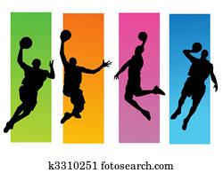 バスケットボール イラストギャラリー 1000 バスケットボール アート