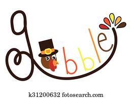 Gobble Turkey