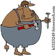 Carpenter Cow