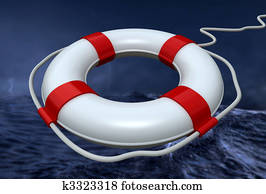 lifebuoy in the storm