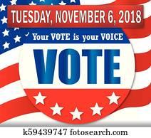 Vote Tuesday, November 6, 2018
