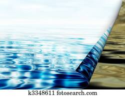 environmental concept, water protection
