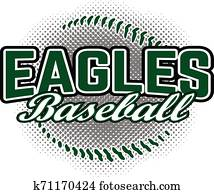 Eagles Baseball Design