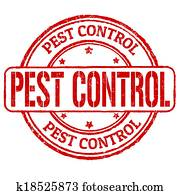 Pest control stamp