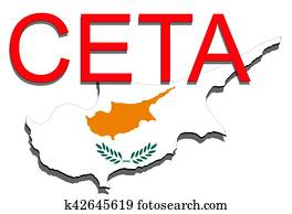 Drawing of ceta comprehensive economic and trade for Ponteggio ceta dwg