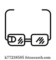 Google Glasses Icon