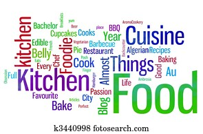 food words white