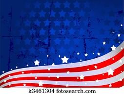 amerikaflagge, hintergrund