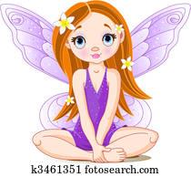 Little cute fairy