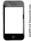 Modern touch screen phone