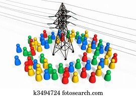 People and the Electricity