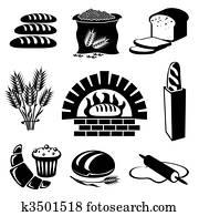 bread, heiligenbilder