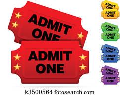 Classic movie tickets