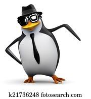 3d Penguin dances