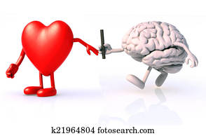 relay between brain and heart