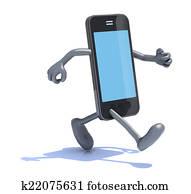 smart phone that runs