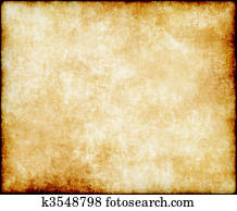 alt, papier, oder, pergament
