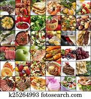 Big Food Collage