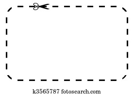 clip art of blank coupon or voucher k3465452 search clipart