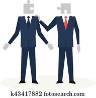 kommunikation, skils, begriff
