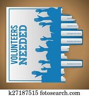 Volunteer design.