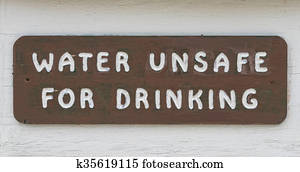 Water Unsafe For Drinking
