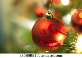 Weihnachtsbilder Mit Kugeln.Natürlich Fichte Baum Natur Weihnachtsbilder Detail Details Girlande