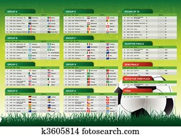 2010 South Africa Schedule