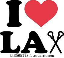 I love Lacrosse sticks