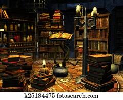 Magician's study