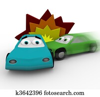 Crash - Two Cars in Accident