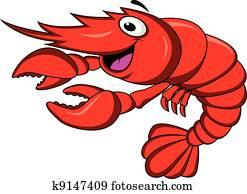 Shrimp Clip Art   Our Top 1000+ Shrimp Vectors   Fotosearch