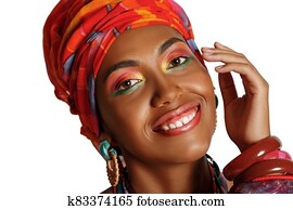 Stunning Portrait of an African American Black Woman