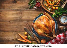 Christmas or Thanksgiving turkey