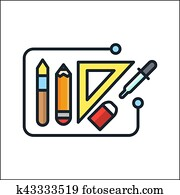 designer tool icon color