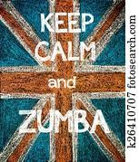 Keep Calm and Zumba