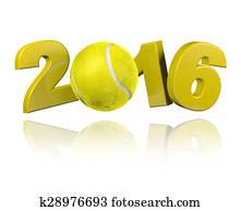 Tennis 2016 design