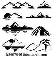 bergwelt, heiligenbilder
