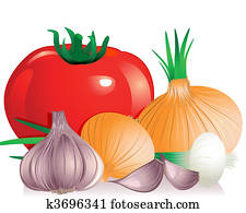 onion tomato garlic